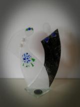 Brudepar glaskunst